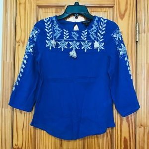 Brand New Lucky Brand Peasant Top